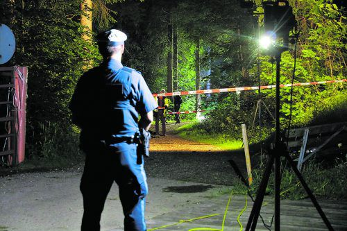 Der Waldweg, auf dem das Unglück geschah, steht derzeit im Zentrum der Ermittlungen. Liss