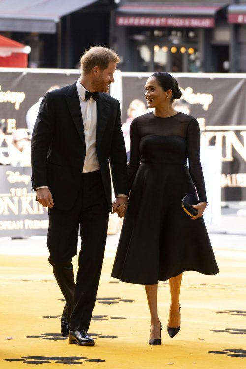 Prinz Harry und Meghan Markle wünschen sich Privatsphäre.reuters