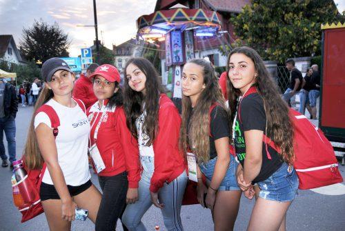 Gastturnerinnen aus Malta unterwegs beim Abendtörn.