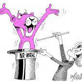 Pinker Neos-Wahlhelfer!
