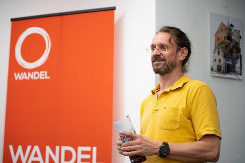 Konrad Steurer tritt mit der Partei Der Wandel bei der Landtagswahl an.