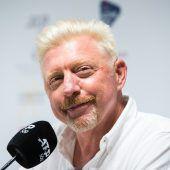 Boris Becker zu jung für Bier
