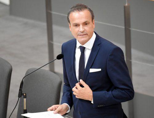Finanzminister Eduard Müller appellierte an die Abgeordneten, immer auch das Budget mitzudenken. APA