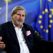 Hahn soll EU-Kommissar bleiben