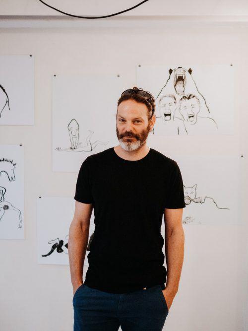 Für Peter Wehinger steht die künstlerische Idee über allem.Kirstin Tödtling