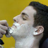 Jetzt ist der Bart ab