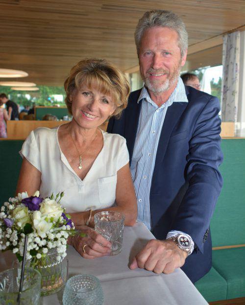 Gäste-Duo: Rita Knöpfle und Johannes Zerwas.