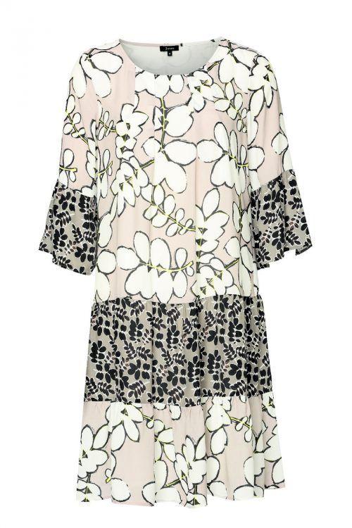 Gemustert             Leichtes Tunika-Kleid von Jones mit Mustern. Erhältlich um 129,95 Euro.