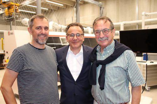 Gerald Klocker, Jürgen Adami und Walter Eberle.