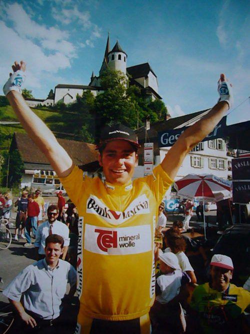 Harald Morscher holte 1994 den einzigen Vorarlberger Gesamtsieg bei der Ö-Tour.