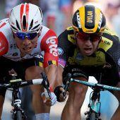 11. Tour-Etappe: Ewan sprintet sich zum Sieg