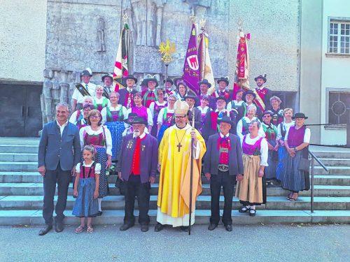 Herz-Jesu-Fest in der Zisterzienserabtei Wettingen-Mehrerau. verband der südtiroler