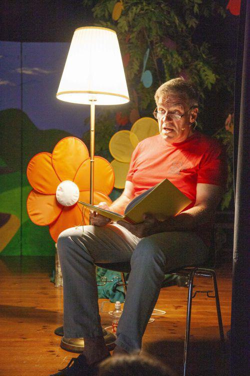 Hubert Konzett übernahm den Part des Erzählers.