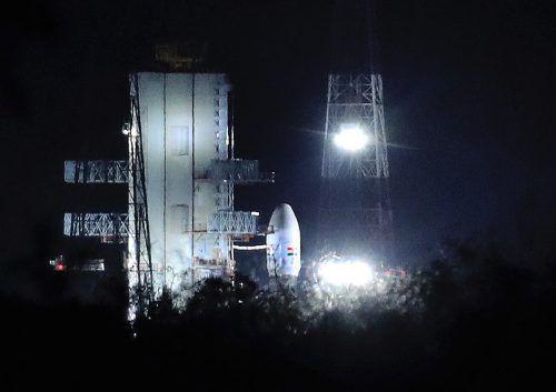 Im 640 Tonnen schweren Trägerraketensystem gab es ein technisches Problem. ap