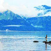 Die größten Lachseder Welt fangen