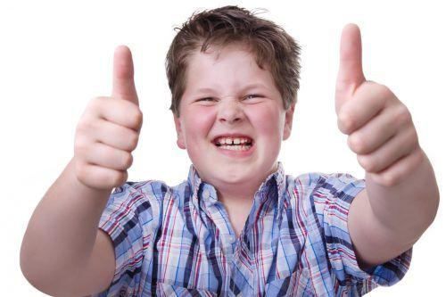 Im Kindesalter lässt sich gewichtsmäßig noch viel erreichen.fotolia