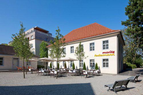 Im Untergeschoß war zuletzt das Restaurant Moritz untergebracht. Stadt