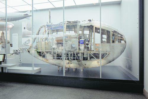Im Zeppelin Museum in Friedrichshafen wird die Geschichte der Luftfahrt lebendig und multimedial erzählt. myrzik