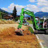 Lingenau investiert  in Fußgängersicherheit