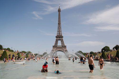 In Paris soll es der Studie zufolge im Jahr 2050 so heiß sein wie heute im australischen Canberra. AFP