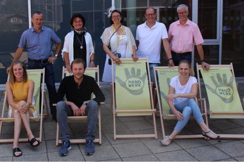 In vier Wochen läuft die Jubiläumsausstellung bereits. Das OK-Team ist optimistisch, dass auch die 10. Handwerksmesse ein Erfolg wird.