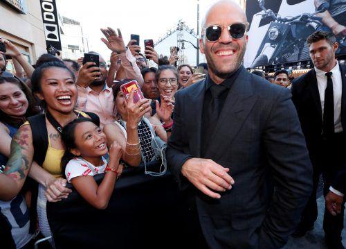 """Jason Statham bei der Premiere von """"Fast & Furious Presents: Hobbs & Shaw"""". RTS"""