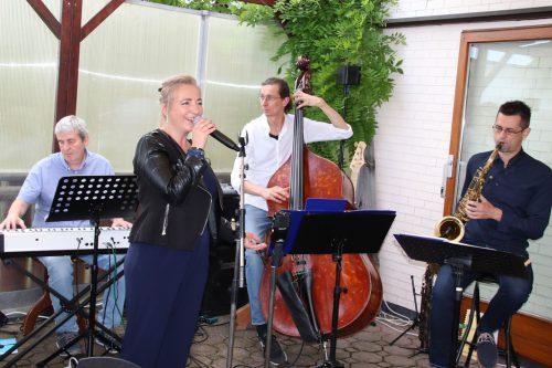 Jazzsound vom Feinsten auf der Kreuz-Terrasse.wam