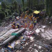 Zahl der Opfer nach Monsunregen steigt