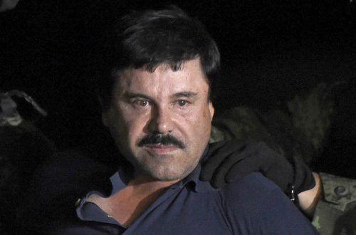 """Joaquin """"El Chapo"""" Guzmán muss lebenslang hinter Gitter. AFP"""