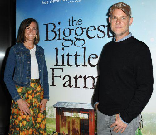John Chester und seine Frau Molly wag-ten den Schritt in ein neues Leben. AFP