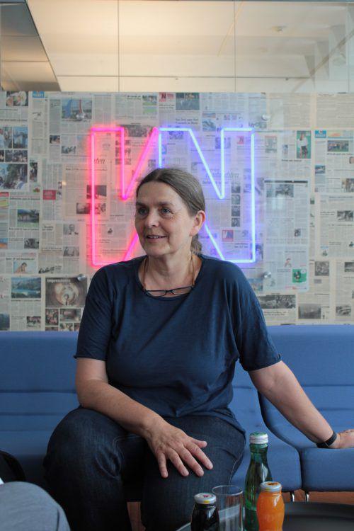 Katharina Lins hätte sich vom Mobilitätskonzept mehr erwartet. VN/Schuster