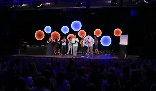"""""""Kirmes Hanoi"""" holten sich den Poetry-Slam-Sieg."""