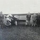 Als Walter Kittelberger das Motorflugzeug Bregenz baute