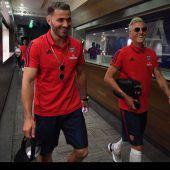 Özil und Kolasinac lachen schon wieder