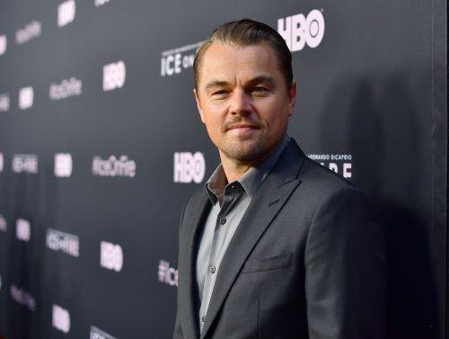 Leonardo DiCaprio setzt sich verstärkt für den Klimaschutz ein. AFP