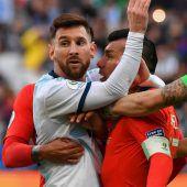 Nur ein Spiel Sperre für Messi