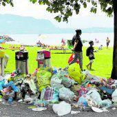 Littering im Mülltrennungs-Musterländle