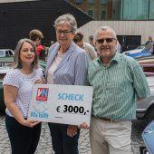 3000 Euro für Ma hilft