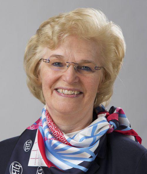 Margaret Sikkens-Ahlquist ist von Dornbirn begeistert.Gymnaestrada