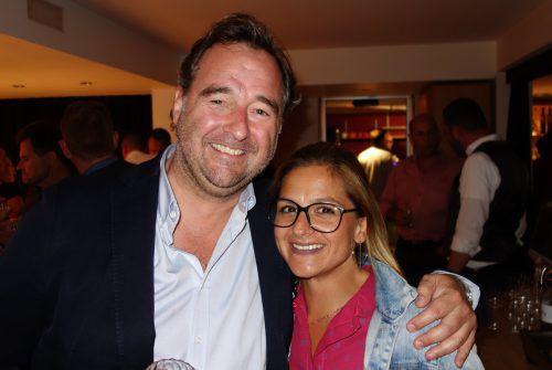 Martin Wiesenegger mit Sophia Walch (Montana).
