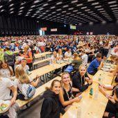 Menüs für 13.000 Hungrige in drei Stunden