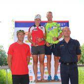 Bundespolizeimeisterschaft im Triathlon im Naturbad Untere Au