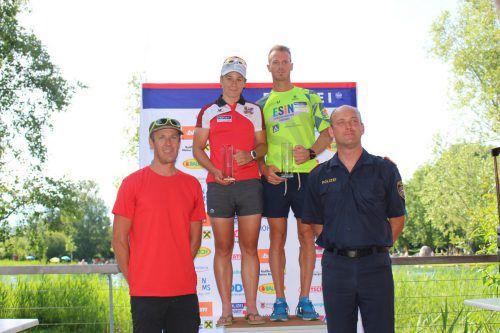 Matthias Buxhofer, Romana Slavinec, Peter Müllner und Mario Breuss.