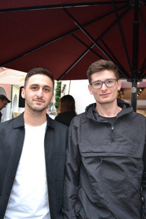 Michael Feichtner und Simon Staggl waren das erste Mal dabei und sofort begeistert.