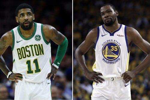 """Mit dem Wechsel von Kevin Durant wurde die """"Free Agency"""" der NBA eingeläutet.AP"""