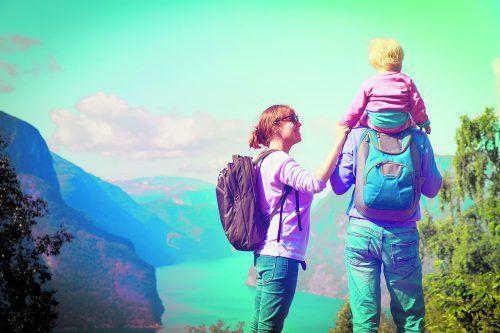 Mit den VN-Familiensommer-Gutscheinen beginnt der Familienurlaub direkt vor der Haustür.
