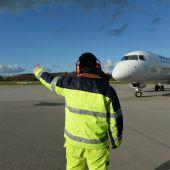 Airport Friedrichshafen bleibt in roten Zahlen
