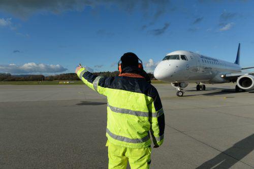 Mit einem Plus von 4,6 Prozent bei den Passagierzahlen konnte der Bodensee-Airport Friedrichshafen das Jahr 2018 abschließen. 540.782 Fluggäste nutzten den Airport. FDH