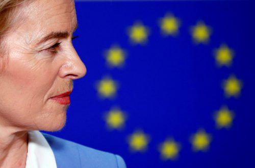 Mit neuen Zusagen an die Fraktionen warb die deutsche Ministerin um Unterstützung. reuters