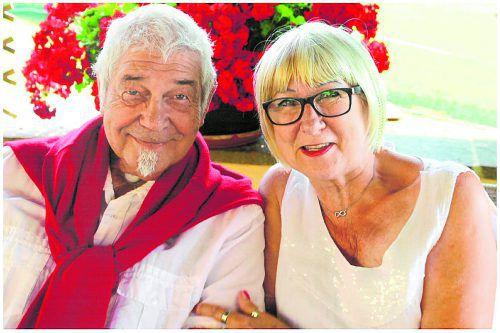 Mit Zuversicht blicken Ingrid und Karl-Heinz Gmeiner in die Zukunft. privat